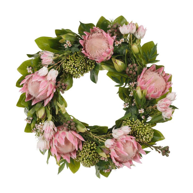 Australiana-pink-green-christmas-wreath-FI7251PG