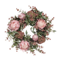 Australiana-pink-grey-christmas-wreathFI8032PG