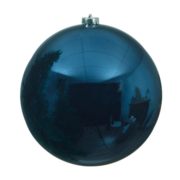 Blue-Shatterproof-plain-Ball-purely-christmas-022372