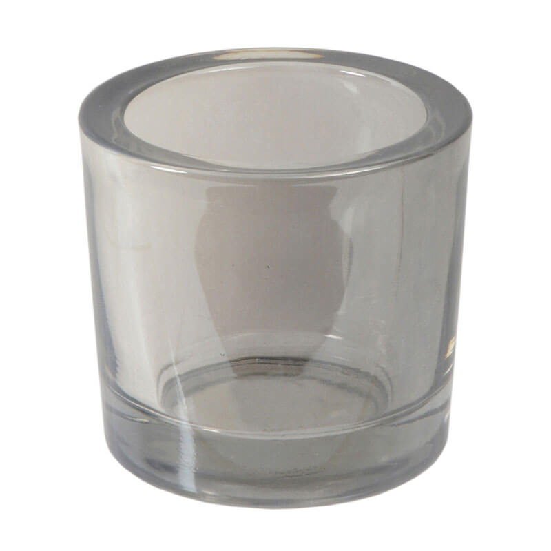 Candle-Votive-Grey-Glass-silver-purely-christmas-52393