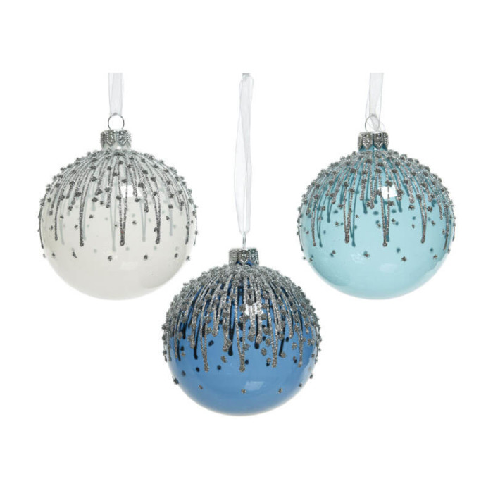 Glass-Bauble-White-Silver-Blue-Purely-Christmas-050006