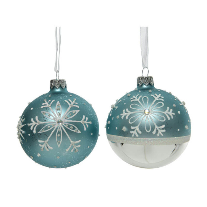 Glass-Bauble-White-Silver-Blue-artic-Purely-Christmas-050021