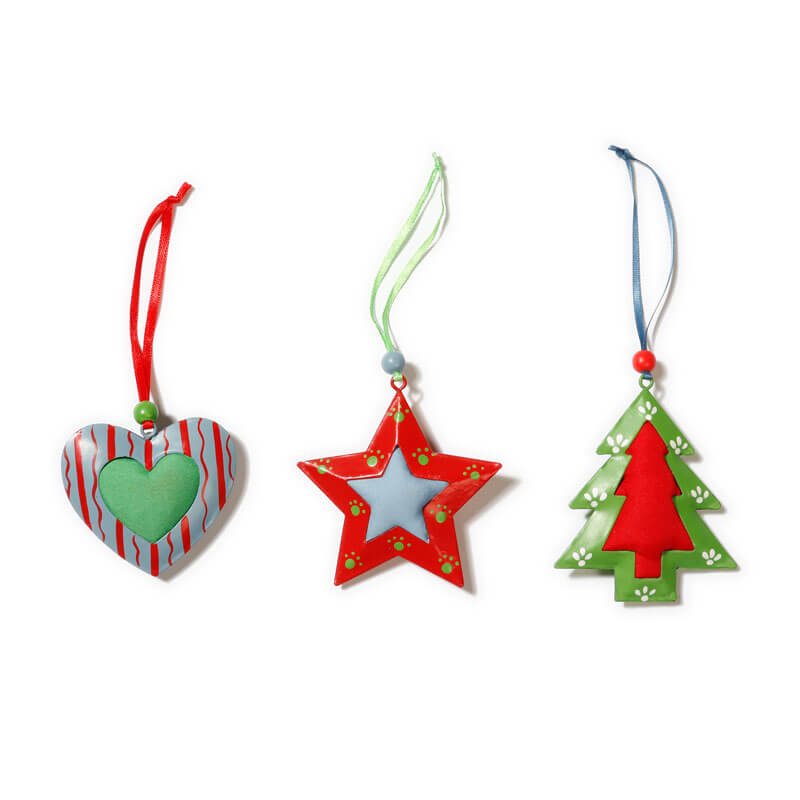 Metal-Decorations-hanging-red-blue-green-Purely-Christmas-700003620