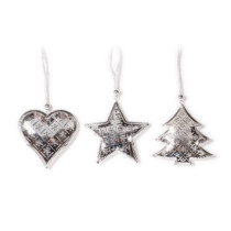Metal-Decorations-hanging-silver-Purely-Christmas-700003980