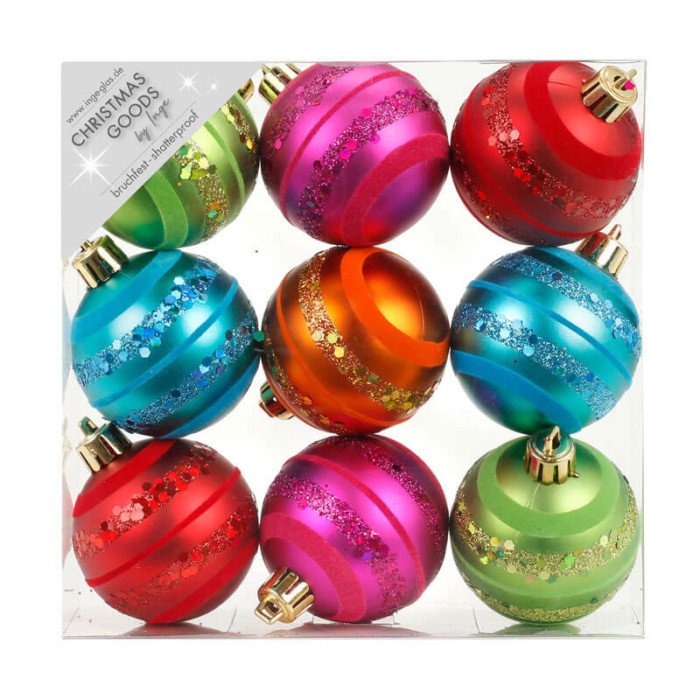Mille-Fiori-Mixed-Inge-Shatterproof-Baubles-purely-christmas-81074G136