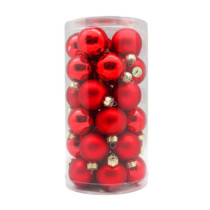 Red-Shiny-Matt-Inge-Glass-Baubles-purely-christmas-12002C103
