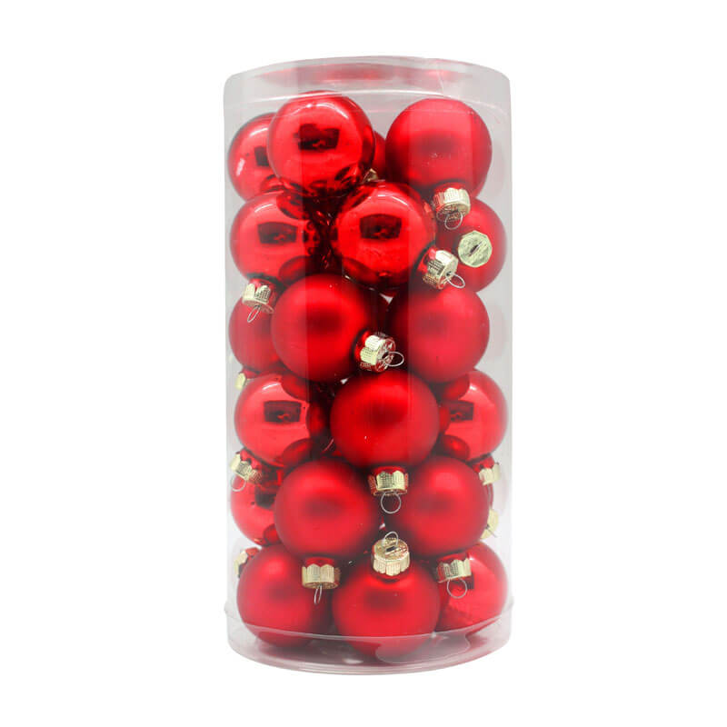Red-Shiny-Matt-Inge-Glass-Baubles-purely-christmas-12002C103