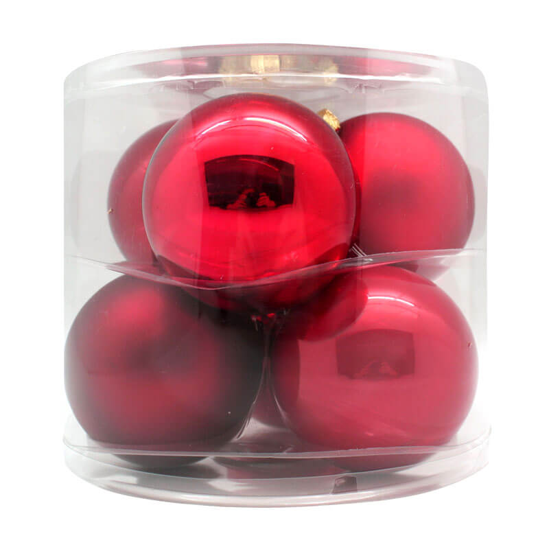 Ruby-Red-Inge-Glass-Baubles-purely-christmas-15007C110