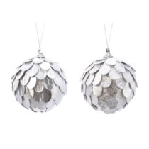 Shatterproof-Ball-with-Silver-fishscale-decoration-Purely-Christmas-457599
