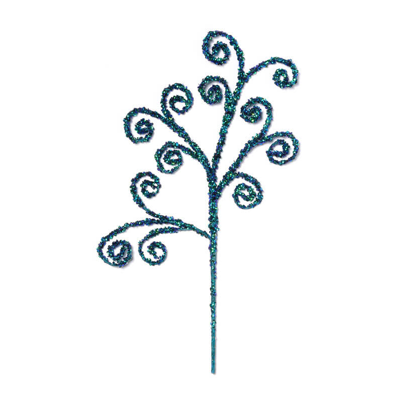 Turquoise-Sequinned-Branch-purely-christmas-700001076