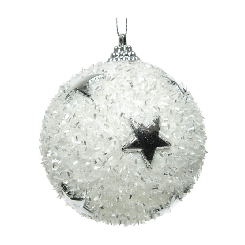 White-Ball-decorated-with-Silver-stars-Purely-Christmas-455783