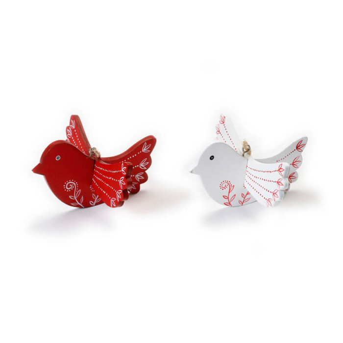 Wooden-Bird-Hanging-Red-and-White-Purely-Christmas-700000401