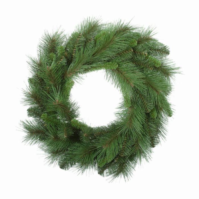 plain-christmas-wreath-green-purely-christmas-FID0192GR