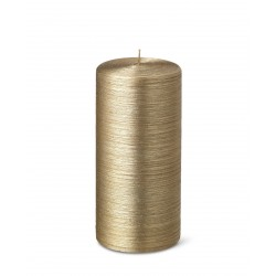 24537-pillar-candle-purely-christmas-silk-15cm-25h-gold-bougies-la-francaise