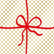 caspari-christmas-napkin-lunch-cadeau-deluxe-gold-purely-christmas-X19PPDL2193