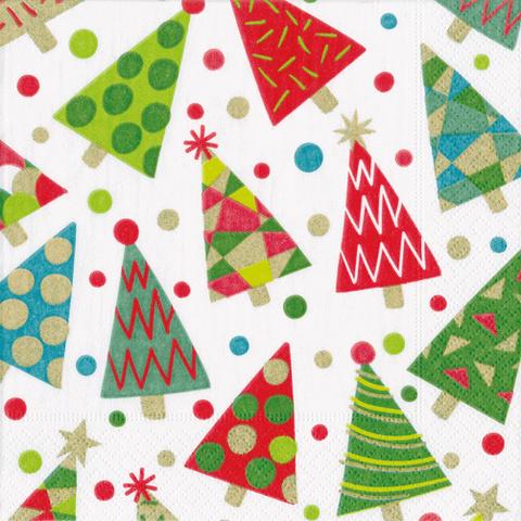 caspari-christmas-napkin-lunch-christmas-party-trees-purely-christmas-X19CAL14760