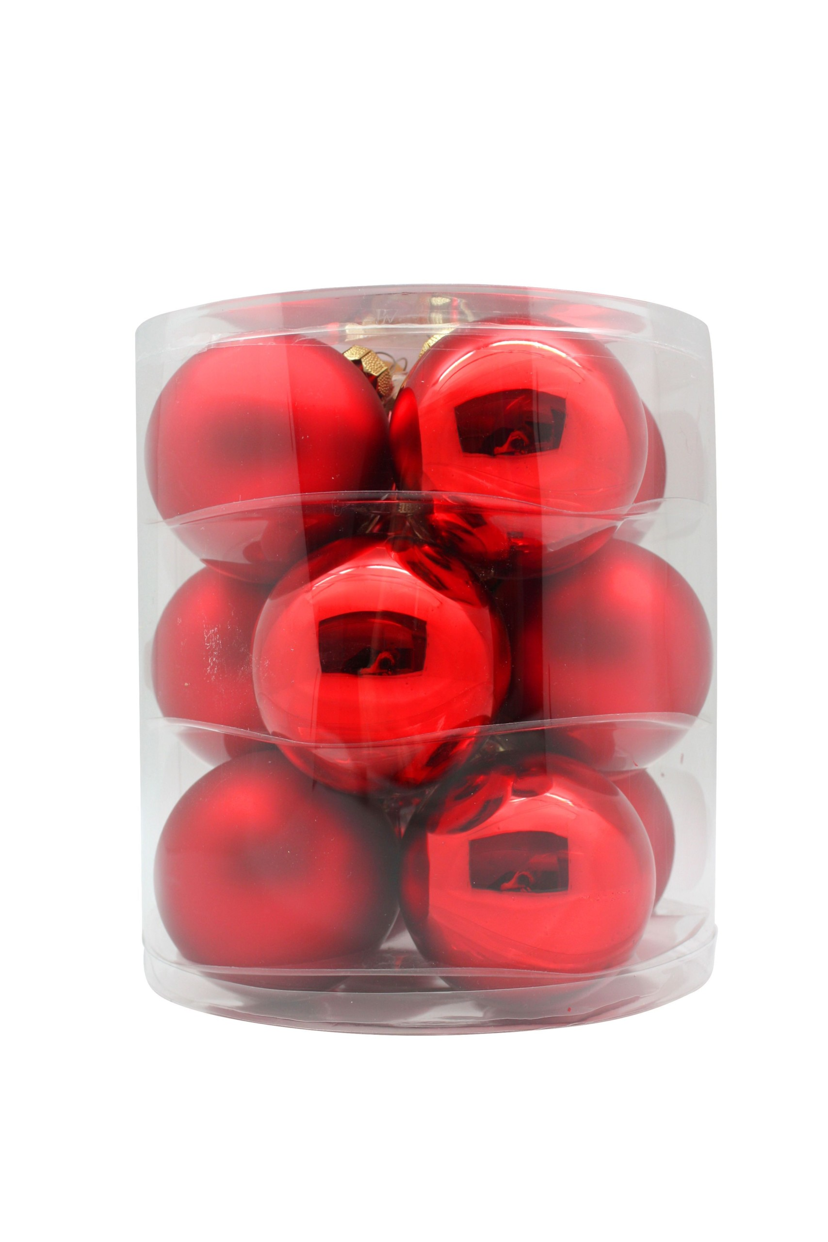 red-shiny-matte-inge-glass-baubles-purely-christmas-12002C109