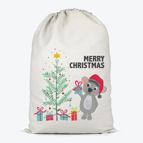 koala santa sack