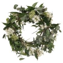 bottlebrush and eucalyptus wreath
