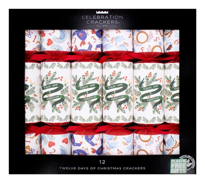box of bon bons white 12 days of christmas 6