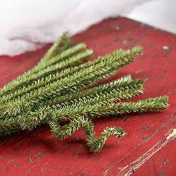artificial pine pipe cleaners
