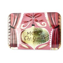 pink and gold petite christmas tin