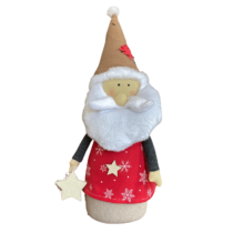 plush santa with red top