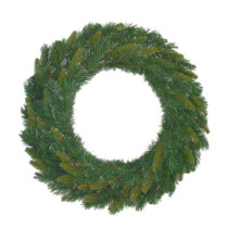 two tone pine wreath 45cm
